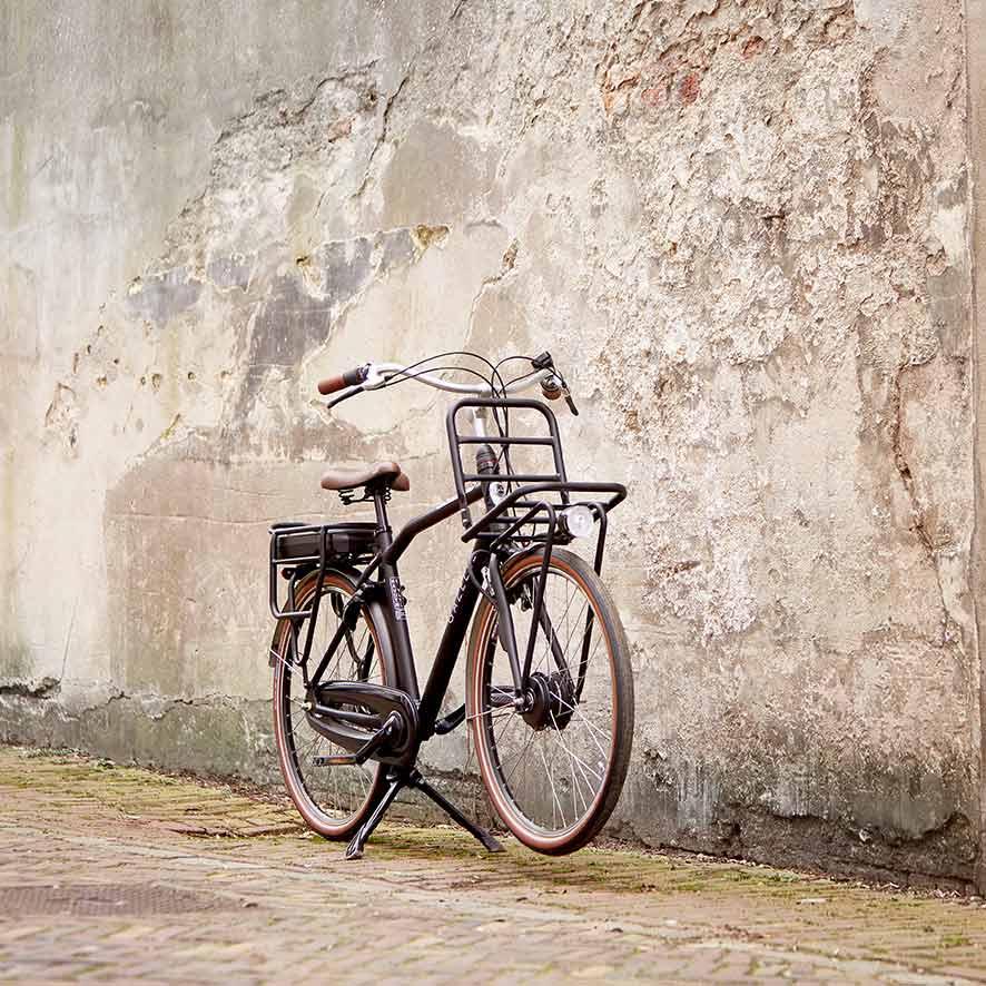 Das Herren-Lastenrad von Gazelle bringt Sie mühelos überall hin.