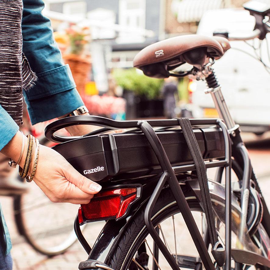 Der Panasonic-Akku hat ein Drehmoment von 30 Nm und eine Reichweite von max. 110 km und bietet damit endloses Radvergnügen.