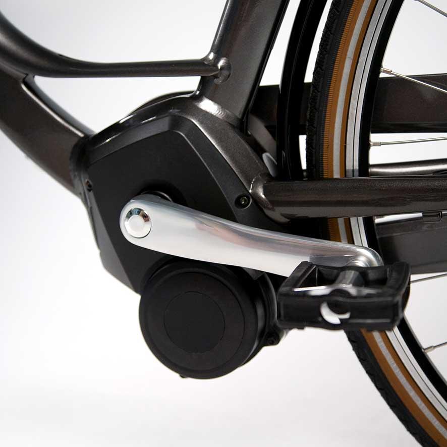 """Alle Elektro-Fahrräder sind mit einem Geschwindigkeitssensor (auch """"Speed-Sensor"""" genannt) ausgestattet. Dieser Sensor misst, wie schnell Sie fahren und sorgt dafür, dass die Unterstützung abgeschaltet wird, sobald Sie eine Geschwindigkeit von 25 km/h err"""